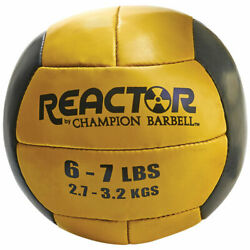 Champion Barbell Reactor Medicine Ball With Yellow Finish 1266245 $33.34