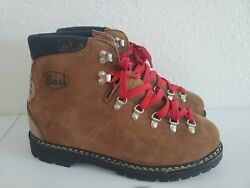 Vintage BASS All Leather Mountaineering Trekking Hiking Boots Men#x27;s US 11 $199.00