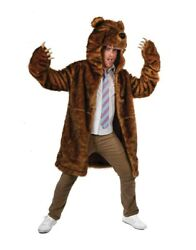 Bear Coat Costume Blake Anderson Workaholics Grizzly Brown Adult TV Show Gift $169.39