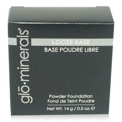Glo MInerals Loose Base Powder Foundation Large 14 g Jar Pick your Shade $24.99
