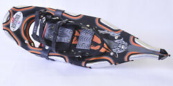 Redfeather V TAIL 25 in. SnowShoes Made in USA Black Orange Hypalon $89.99