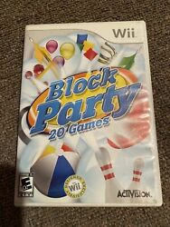 block party wii complete $5.99