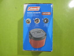 Coleman Rechargeable CPX6 Power Cartridge with Chargers Brand New Open Box $37.99