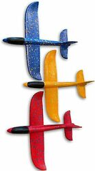Toys Airplane Foam Plane Gliders Hand Throwing Planes 3Pack 3pack Gliders $9.99
