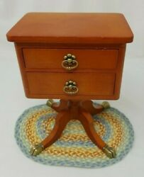 American Girl Doll Night Stand Two Drawer Table 7 1 2quot; tall $74.77