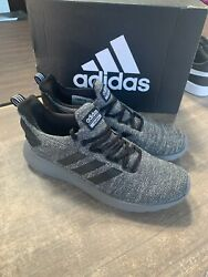 NEW adidas Men's Cloudfoam Lite Racer BYD Running Shoes Grey Black Pick Size $36.95