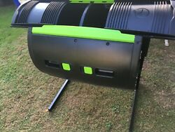 RSI MAZE 65 Gal. Two Stage Tumbling Composter Black $200.00
