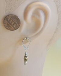 quot;Brass Cairnquot; sundance Catalog Earrings Sterling and Brass with Lever backs $27.00