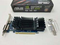 ASUS GeForce GT 1030 Low Profile Fan less Graphics Card $109.99