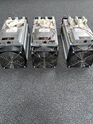 3 ASIC BITMAIN Antminers V9 4.0TH s Bitcoin BCH Miners Used Once $180.00