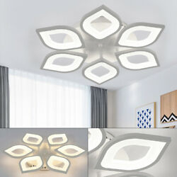 Dimmable Acrylic LED Ceiling Light 6 Arms Lamp Pendant Dining Room Fixture Decor $69.00