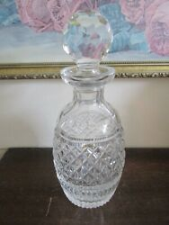 Vintage Waterford Crystal Wine Decanter 10.5quot; $85.00