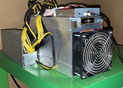 Bitmain Antminer L3 504mh s DOGE Litecoin With Power Supply. Ships From USA $1400.00