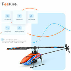 WLtoys XKS K127 RC Helicopter Remote Control Aircraft Fixed Plane RTF Xmas Y8T8 $59.50