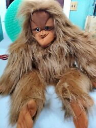New 27quot; Folkmanis Orangutan Large With Movable Mouth With Tag $29.00