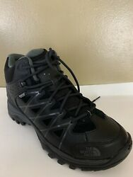 North Face Storm III Mid HydroSeal Waterproof Mens Black Hiking Shoes Size 8 $90.00
