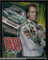 DALE EARNHARDT JR AMP ENERGY NASCAR FRAMED 8 X 10 PHOTO