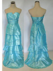 NWT WINDSOR $110 Turquoise Party Juniors Formal Gown 7 $27.88