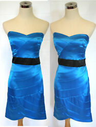 NWT WINDSOR $80 Azure Party Juniors Cocktail Dress 11 $27.88