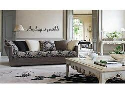 ANYTHING IS POSSIBLE Home Decor Wall Art Decal Quote Lettering Saying 24quot; $7.95