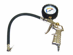 HD Air Tire Inflator With Dial Gauge Auto Truck Bike Air Compressor Pistol Type
