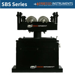 BALANCING MACHINE SBS2000: ROLLER WORK SUPPORTS & PLANS ERBESSD INSTRUMENTS