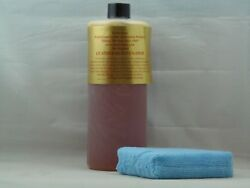 LEATHER CARE LEATHERIQUE LEATHER RESTORATION REJUVENATOR OIL 32OZ.  APPLICATOR