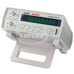 Victor VC2000 Radio High Frequency Counter RF Meter 10Hz 2.4GHz Tester 8 Digit S $100.00