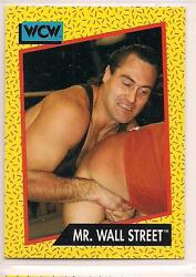 1991 Impel WCW Wrestling Mr. Wall Street $1.00