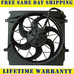 Radiator Condenser Fan For Jeep Liberty 3 Pin Connector WO Heavy Duty Cooling $51.65