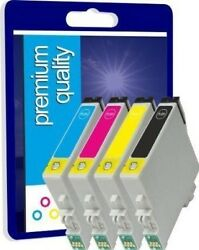 4 Non-OEM Ink Cartridges T1285 for Epson Stylus SX125 S22 BX305FW Plus Printers  $6.30