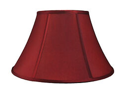 Urbanest Softback Bell Lamp Shade6quot;x12quot;x8quot;Faux Silk Spider Fitter 6 Colors $26.99