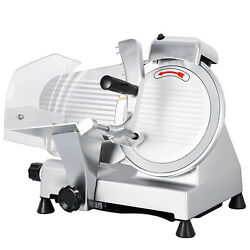 Commercial 10quot; Blade Deli Meat Slicer 240w 530RPM Food Cheese Electric slicer