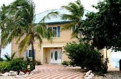 1 Night Rental for an oceanfront Villa in the Grand Cayman Islands $740.00
