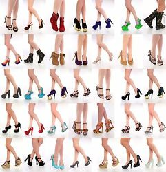 R1i 400 Pairs WHOLESALE LOT Womens Shoes High Heels Platform Wedge Pumps sandals