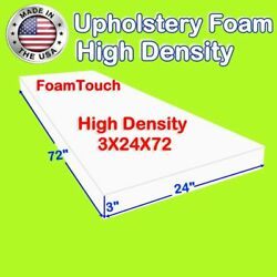 FoamTouch Upholstery Foam Cushion Replacement High Density  size 3