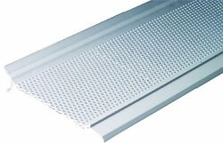 Gutter Guard Pro GG5W-1 12-Foot Gutter Screen System Snap-In Cover White  New