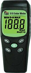 TPI 510 Solar Power Test Irradiance Meter AUTHORIZED DISTRIBUTOR WE EXPORT $137.99