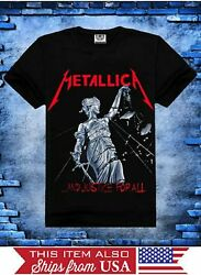 Metallica And Justice For All Graphic T-Shirt XS S M L XL 2XL