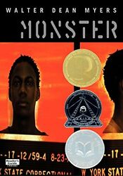Monster by Walter Dean Myers (Paperback) Amistad  New Free Shipping