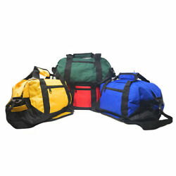 14quot; Two Tone Duffle Duffel Bag Bags Travel Sport Gym Carry On Clothes Luggage $4.98