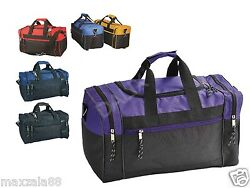 1 Dozen Duffle Bag Bags Travel Size Sports Gym Blank 17quot; Wholesale Bulk Lot $97.99