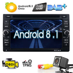 Quad-Core Android 8.1 Universal 2 Din 6.2