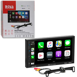 PIONEER 6.2quot; TOUCHSCREEN USB CAR BLUETOOTH STEREO REMOTE FREE REAR CAMERA $209.99
