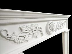 Fireplace Surround - Choice of Size Color Material  - MEDITERRANEAN