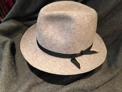 Columbia 7 38 heathered wool fedora traveler. easiest hat you will ever own