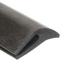 Rubber Leaf Seal 19mm High For Max 2mm Panel Sold Per Metre GBP 4.20