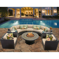 Modern Laguna Sectional Furniture Sofa Set 8 Patio Outdoor Garden Premium Grade