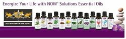 NOW Foods 1oz. Diffuser Burner Topical Essential Oils Improve Mood Health FRESH $9.15