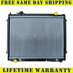 Radiator For 1995-2004 Toyota Tacoma L4 V6 Measure Core